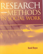 Research Methods in Social Work 4th edition 9780534506087 0534506089