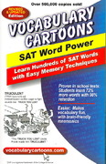 Vocabulary Cartoons, SAT Word Power 4th Edition 9780965242233 0965242234