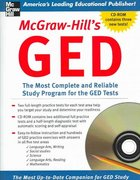 McGraw-Hill's GED w/ CD-ROM 1st edition 9780071451994 0071451994