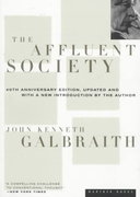 The Affluent Society 40th edition 9780395925003 0395925002