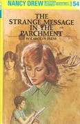 Nancy Drew 54: The Strange Message in the Parchment 0 9780448095547 0448095548