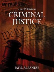 Criminal Justice 4th edition 9780205499090 0205499090