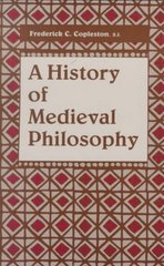 A History of Medieval Philosophy 0 9780268010911 0268010919