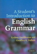 A Student's Introduction to English Grammar 1st Edition 9780521612883 0521612888