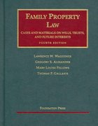 Family Property Law 4th edition 9781599410708 1599410702