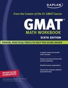 Kaplan GMAT Math Workbook 6th Edition 9781419552168 1419552163