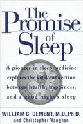 The Promise of Sleep 1st Edition 9780385320085 0385320086