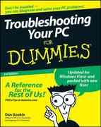 Troubleshooting Your PC For Dummies 3rd edition 9780470230770 0470230770