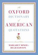 The Oxford Dictionary of American Quotations 2nd edition 9780195168235 0195168232