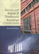 Survey and Repair of Traditional Buildings 1st Edition 9781317742135 1317742133