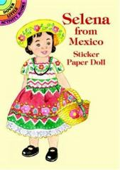 Selena from Mexico Sticker Paper Doll 0 9780486409900 0486409902