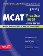 Kaplan MCAT Practice Tests 7th edition 9781419553578 1419553577
