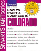 How to Start a Business in Colorado 1st edition 9781599181196 1599181193