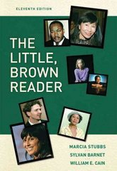 The Little Brown Reader 11th Edition 9780205589661 0205589669