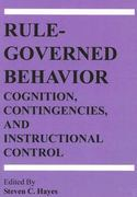 Rule-Governed Behavior 0 9781878978486 1878978489