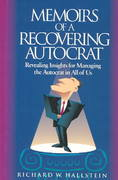 Memoirs of a Recovering Autocrat 0 9781881052357 1881052354