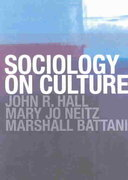 Sociology On Culture 1st edition 9780415284851 0415284856