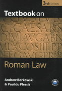 Textbook on Roman Law 3rd edition 9780199276073 0199276072