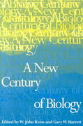 A New Century of Biology 0 9781560989455 1560989459