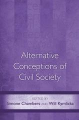 Alternative Conceptions of Civil Society 1st Edition 9780691087962 0691087962