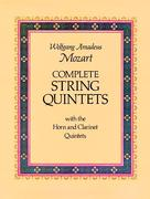 Complete String Quintets 0 9780486236032 048623603X