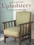 Quick and Easy Upholstery 0 9781906094461 1906094462