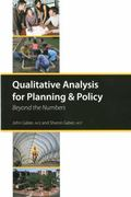 Qualitative Analysis for Planning & Policy 1st Edition 9781932364323 1932364323