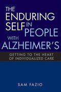 The Enduring Self in People with Alzheimer's 1st Edition 9781938870668 1938870662