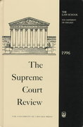 The Supreme Court Review, 1996 74th edition 9780226363134 0226363139