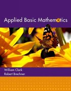 Applied Basic Mathematics 1st edition 9780321194077 0321194071