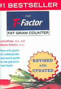 The T-Factor Fat Gram Counter 1st Edition 9780393326727 0393326721