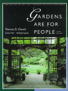 Gardens Are for People 3rd edition 9780520201200 0520201205