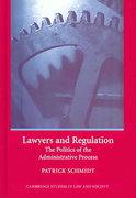Lawyers and Regulation 0 9780521844659 0521844657