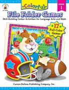 Colorful File Folder Games 1st Edition 9781594410895 1594410895