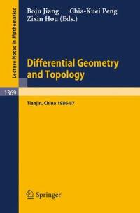 Differential Geometry and Topology 1st edition 9783540510376 3540510370
