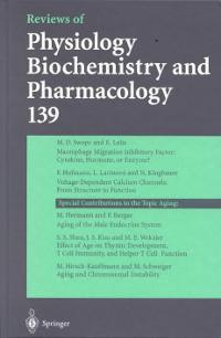 Reviews of Physiology, Biochemistry and Pharmacology 1st edition 9783540656944 3540656944