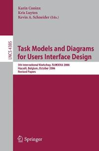 Task Models and Diagrams for Users Interface Design 0 9783540708155 3540708154