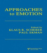 Approaches To Emotion 1st edition 9780898594065 0898594065
