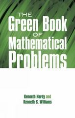 The Green Book of Mathematical Problems 0 9780486695730 0486695735
