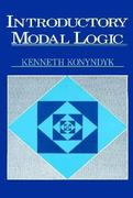 Introductory Modal Logic 0 9780268011598 0268011591