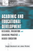 Academic and Educational Development 1st edition 9780749435332 074943533X