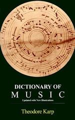 Dictionary of Music 0 9780810106598 0810106590