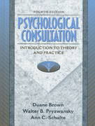 Psychological Consultation 4th edition 9780205268306 0205268307