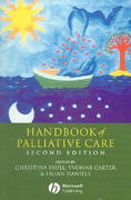 Handbook of Palliative Care 2nd edition 9781405121125 1405121122