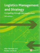 Logistics Management and Strategy 3rd edition 9780273712763 0273712764