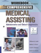 Workbook to Accompany Delmar's Comprehensive Medical Assisting 2nd edition 9780766824225 0766824225