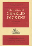 The Letters of Charles Dickens 0 9780198122937 0198122934