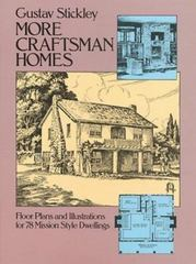 More Craftsman Homes 0 9780486242521 0486242528