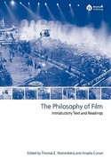 The Philosophy of Film 1st Edition 9781405114424 1405114428
