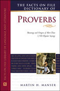 The Facts on File Dictionary of Proverbs 0 9780816046072 0816046077